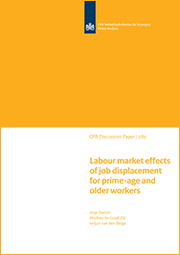 Image for Labour market effects of job displacement for prime-age and older workers