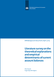 Image for Literature survey on the theoretical explanations and empirical determinants of current account balances