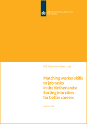 Image for Matching worker skills to job tasks in the Netherlands: Sorting into cities for better careers