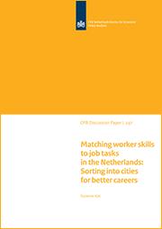 Image for Matching werknemerscapaciteiten en werktaken in Nederlandse steden