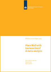 Image for More R&D with tax incentives? A meta-analysis