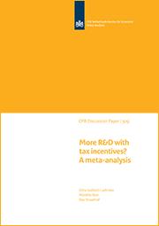 Image for Hoe effectief zijn belastingvoordelen voor R&D? Een analyse van de literatuur