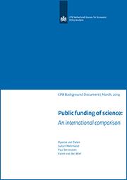 Image for Publieke onderzoeksfinanciering: een internationale vergelijking