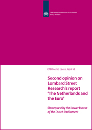 Image for Second opinion rapport 'Nederland en de euro' van Lombard Street Research