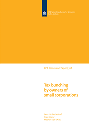 Image for Tax bunching by owners of small corporations
