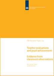 Image for Teacher evaluations and pupil achievement: Evidence from classroom observations