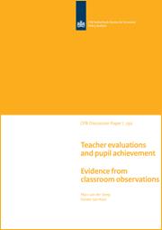 Image for De relatie tussen evaluaties van leraren en leerlingprestaties: evidentie op basis van lesobservaties