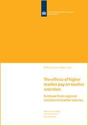 Image for The effects of higher teacher pay on teacher retention