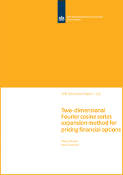 Image for Two-dimensional Fourier cosine series expansion method for pricing financial options
