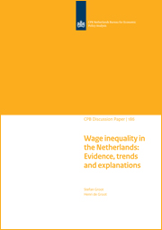 Wage inequality in the Netherlands: Evidence, trends and explanations