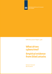 Image for What drives cybercrime? Empirical evidence from DDoS attacks