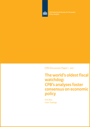 Image for The world's oldest fiscal watchdog: CPB's analyses foster consensus on economic policy