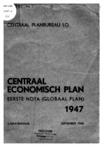 CPB Historische Collectie: publicaties vanaf 1946 digitaal beschikbaar