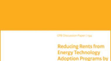 Image for Het verminderen van het aantal free-riders bij energie investeringsregelingen