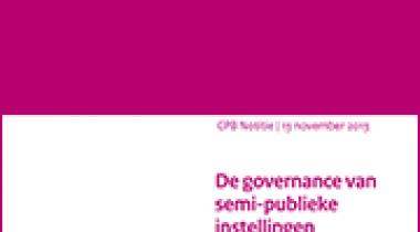 Image for De governance van semi-publieke instellingen