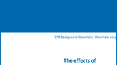 Image for The effects of CBS revisions on CPB forecasts