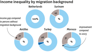 Image for Income differences across migrant groups