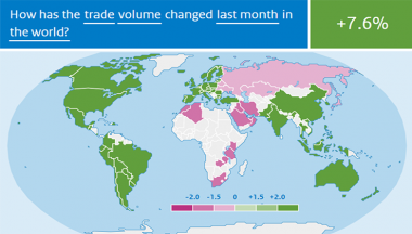 Image for A rebound in world trade