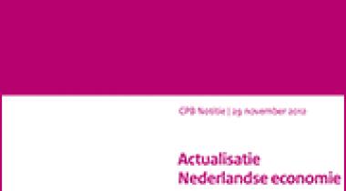 Image for Actualisatie Nederlandse economie tot en met 2017 (verwerking Regeerakkoord)