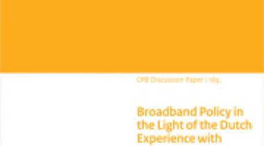 Image for Broadband Policy in the Light of the Dutch Experience with Telecommunications Liberalization