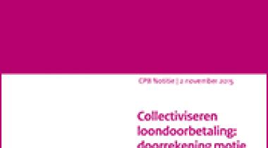 Image for Collectiviseren loondoorbetaling: doorrekening motie Voortman