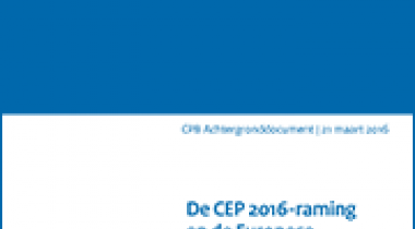 Image for De CEP2016-raming en de Europese begrotingsregels