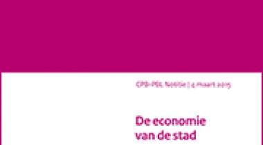 Image for De economie van de stad