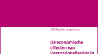 Image for De economische effecten van internationalisering in het hoger onderwijs
