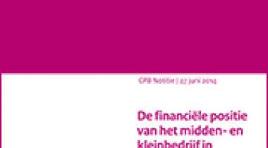 Image for De financiële positie van het midden- en kleinbedrijf in Nederland