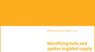 Image for De identificatie van hubs en spokes in wereldwijde waardeketens op basis van doorgeleide handel in toegevoegde waarde