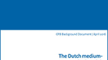 Image for The Dutch medium-term outlook and the European budgetary rules
