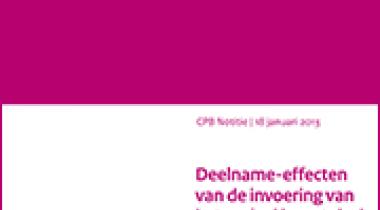 Image for Deelname-effecten van de invoering van het sociaal leenstelsel in de bachelor- en masterfase