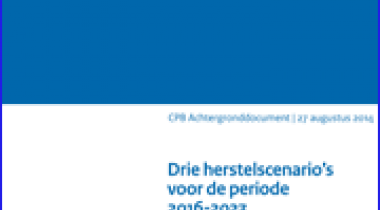 Image for Drie herstelscenario's voor de periode 2014-2023