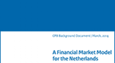 Image for A Financial Market Model for the Netherlands