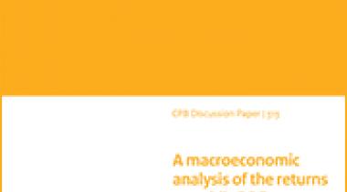 Image for Een macro-economische analyse van het rendement op publieke kennisinvesteringen