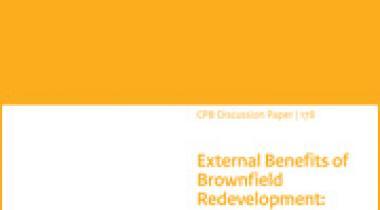 Image for Externe Effecten van Binnenstedelijke Transformatie: Toegepaste Welvaartsanalyse in een Stedelijk Algemeen Evenwichtsmodel