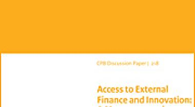 Image for Het effect van toegang tot externe financiering op innovatie: een macro-economische benadering