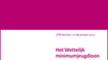Image for Het Wettelijk minimumjeugdloon en de arbeidsmarkt voor jongeren