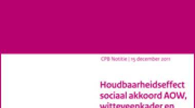 Image for Houdbaarheidseffect sociaal akkoord AOW, witteveenkader en vitaliteitspakket