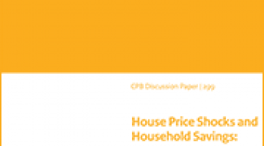 Image for House Price Shocks and Household Savings: evidence from Dutch administrative data