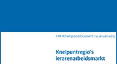 Image for Knelpuntregio's lerarenarbeidsmarkt: een eerste verkenning