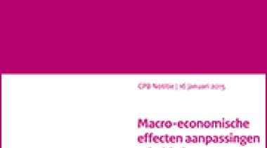 Image for Macro-economische effecten aanpassingen arbeidsduur