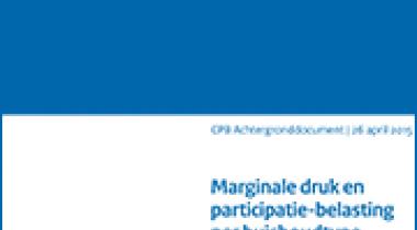 Image for Marginale druk en participatiebelasting per huishoudtype in 2015