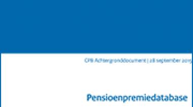 Image for Pensioenpremiedatabase: Individuele premies van werkgevers en werknemers