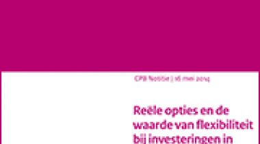 Image for Reële opties en de waarde van flexibiliteit bij investeringen in natte infrastructuur, samenvatting en conclusies
