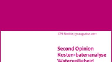 Image for Second opinion Kosten-batenanalyse Waterveiligheid 21e eeuw (KBA WV21)