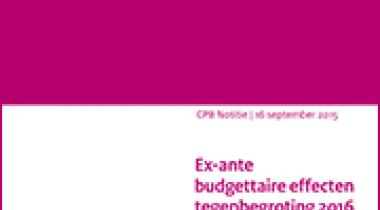 Image for Tegenbegroting 2016 van GroenLinks