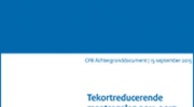 Image for Tekortreducerende maatregelen 2011-2017 (inclusief 5-miljard-pakket)