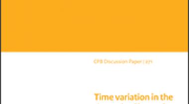 Image for Tijdsvariatie in de dynamische effecten van onverwachte veranderingen in belastingbeleid