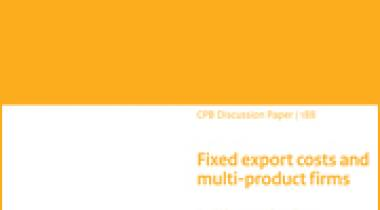 Image for Fixed export costs and multi-product firms